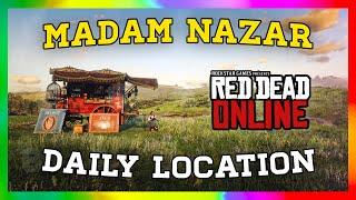 Madam Nazar Location / Sept. 29 / RED DEAD ONLINE
