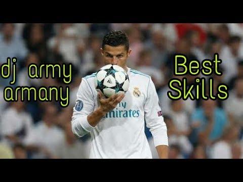 Cristiano Ronaldo Best Skills - 2017/18  ➡ Dj Army-Armany ✔