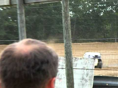 2011 Bemidji Speedway July 10th - WISSOTA Modified Heat Part 1