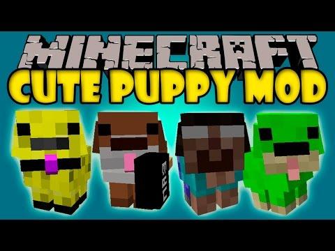 CUTE PUPPY MOD - Mod super Tierno y Cruel!! - Minecraft mod 1.7.10 Review ESPAÑOL