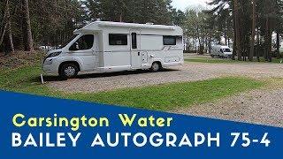 Arriving At Carsington Water C&MC Site via Kedlestone Hall   Bailey Peak District Tour Pt 6