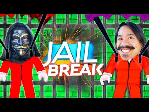 CLOAKER HELPS ME ESCAPE PRISON! Jail Break Roblox Hiding Clues in a Volcano - Melvin PZ9 The Best Fighter
