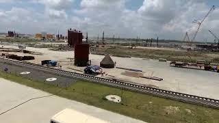 """Телеканал """"ДОН 24"""" на стройке энергоблока в Бангладеше, общий план строительства"""