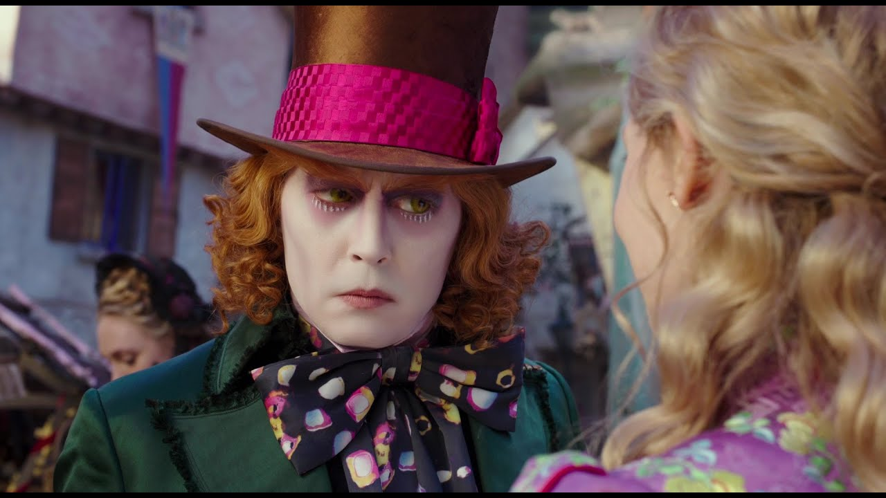 Alice attraverso lo specchio nuovo trailer italiano - Alice e lo specchio ...