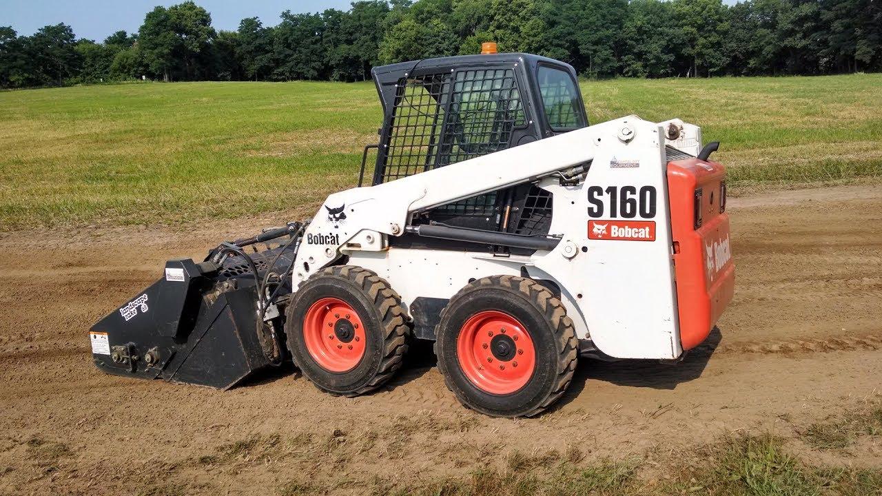 bobcat landscape rake rent it today at garden state bobcat nj ny