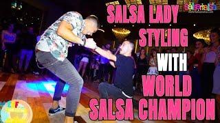WORLD Salsa Champion VS KARABUK Champion | EDF-2018
