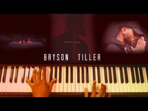 Bryson Tiller - Exchange [piano instrumental] (#reggiewatkins cover/piano cover)