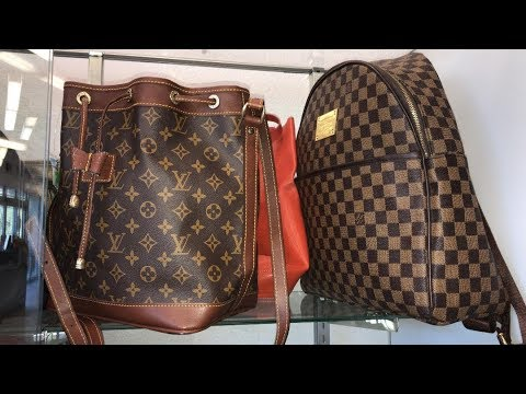 324170873a8 I Found a Louis Vuitton Bag at the Thrift Store ! - YouTube