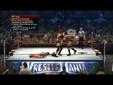 WWE 2K14: RANDY ORTON VS JOHN CENA VS...