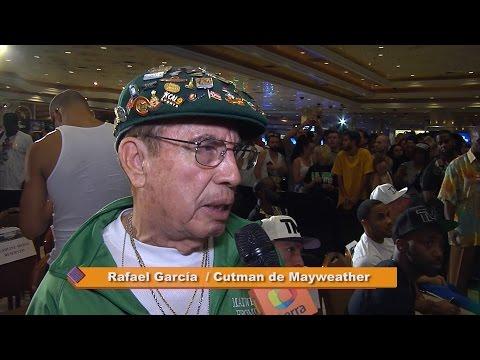 Cutman mexicano de Mayweather habla sobre lío de guantes