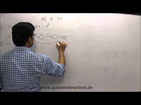 095 | Regular Expression to Finite Automata DFA NFA | Automata Theory