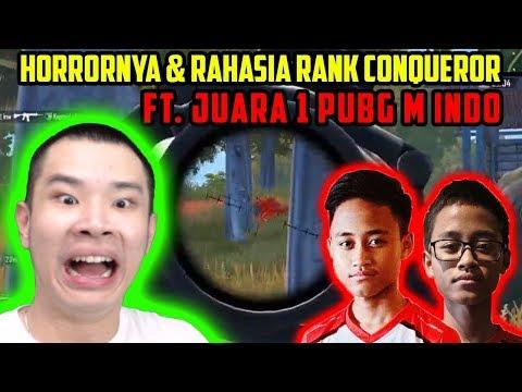 HORRORNYA + RAHASIA NAIK KE CONQUEROR ft. JUARA 1 PUBG M Indo (BTR Zuxxy + Luxxy)