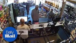 School of Rock actor caught stealing a guitar from music store