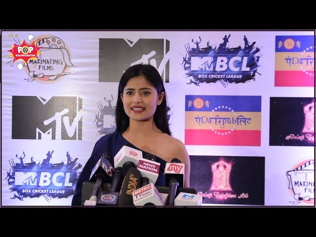 Exclusive Interview With Vaishali Takkar  At MTV BCL 2017 | Red Carpet Event