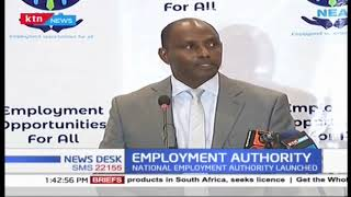 National employment authority launched as established by an act of parliament