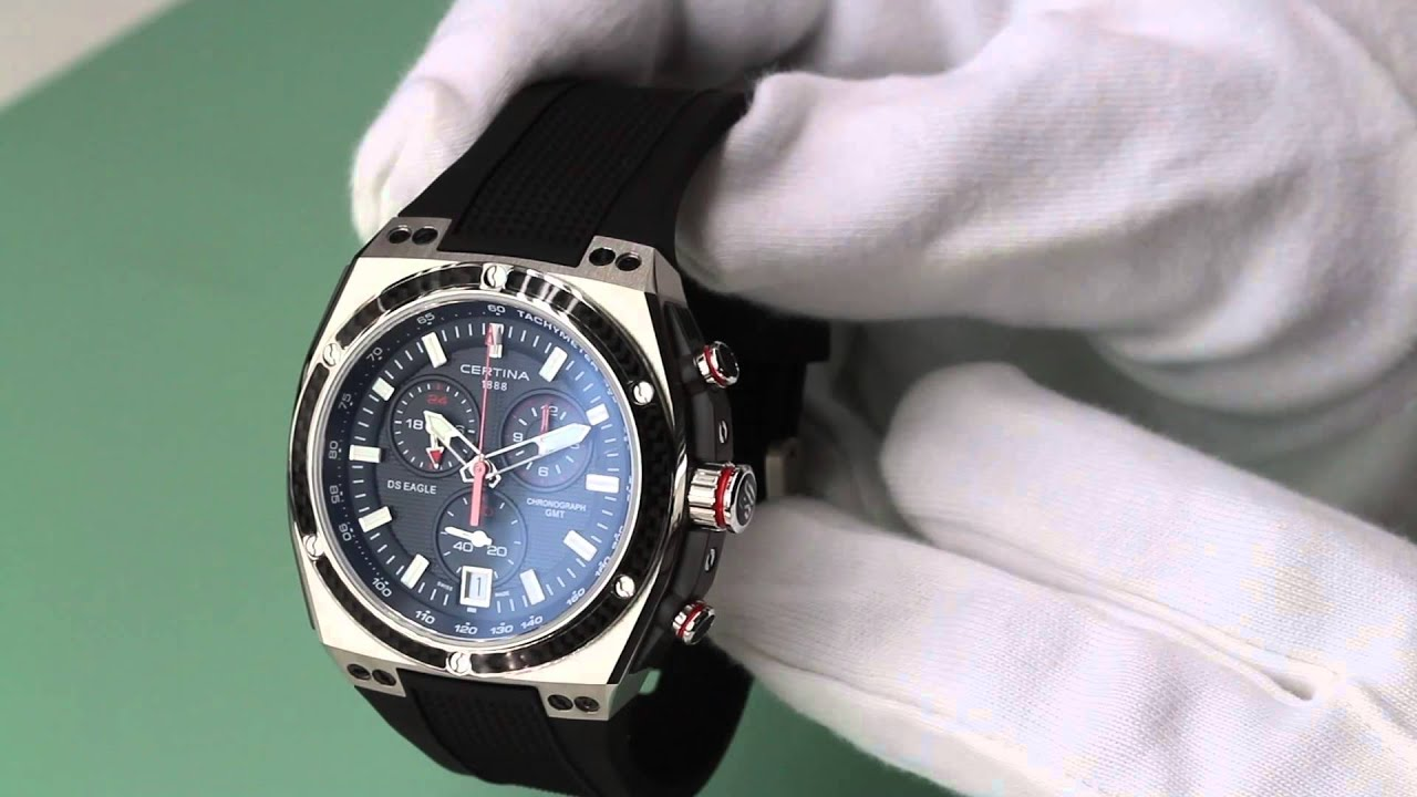 909ed0175 Hands on with the Certina C0237392705100 - YouTube