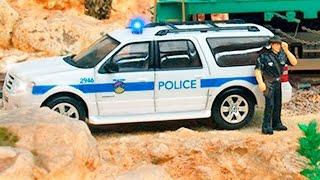 Мультики Про машинки. Полицейская машина. Развивающие мультики про машинки