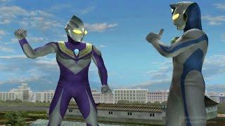 Ultraman Tiga Sky & Dyna Miracle TAG Team Mode ★Play ウルトラマン FE3