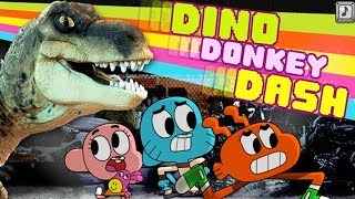 The Amazing World of Gumball - Dino Donkey Dash [Cartoon Network Games]