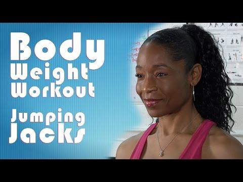Body Weight Workout   Jumping Jacks