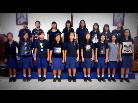 Yamko Rambe Yamko - Cover By SMP ST Antonius Vocal Group