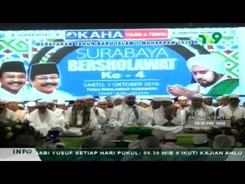 Habib Syech Bin Abdul Qodir Assegaf - Surabaya Bersholawat