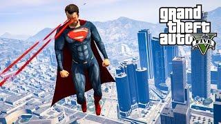 PojzPlaza - เรียกข้าว่าซุปเปอร์แมน GTAV (Superman mod)