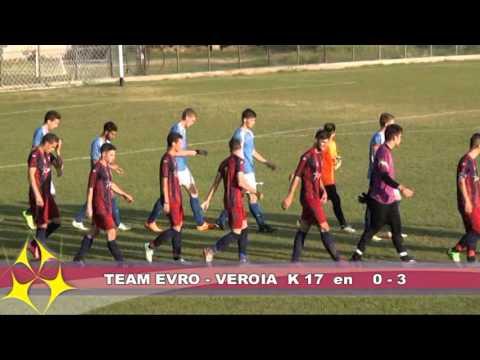 EVROTEAM vs VERIA U15-U19-U17  Sept. 2015