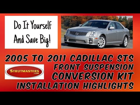 How To Fix The Front Suspension On A Cadillac STS