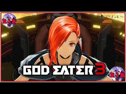 God Eater 3 Walkthrough Part 3 - Becoming a Furry - 동영상