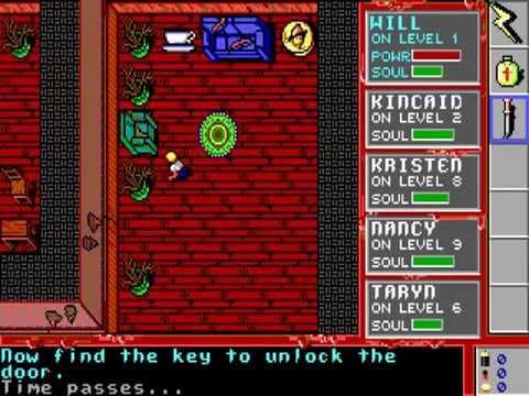 A Nightmare on Elm Street DOS PC