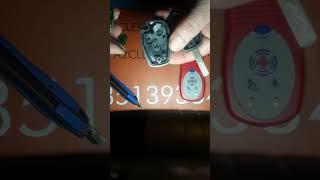 Changer pile cle telecommande KANGOO CLIO TWINGO LOGAN DUSTER TRAFIC