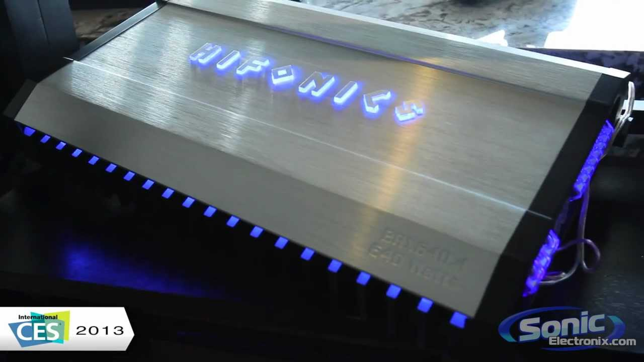 Hifonics Brutus BRX Car Amplifier | Maxxsonics @ CES 2013 on