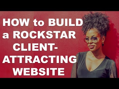 How Build a Client-Attracting Website for Life Coaches & Entrepreneurs! Amande of Launch & Sell - 동영상