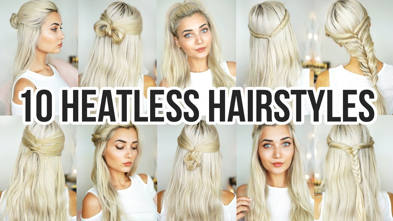 10 Heatless Back To School Hairstyles