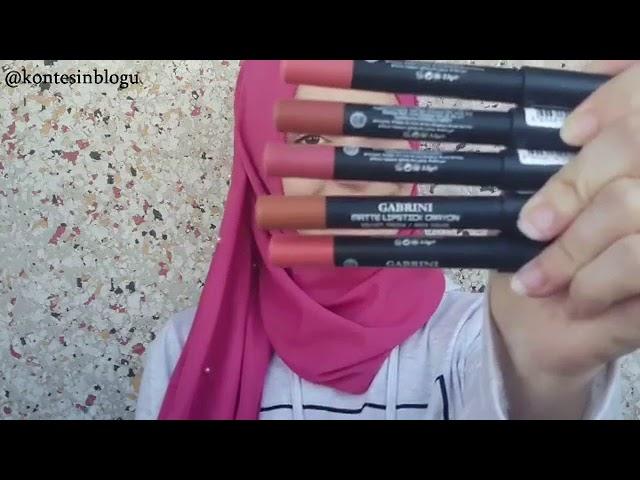 Gabrini Crayon Matte Velvet Lipstick