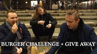 Burger challenge i Odense City + Give away til hjemløse