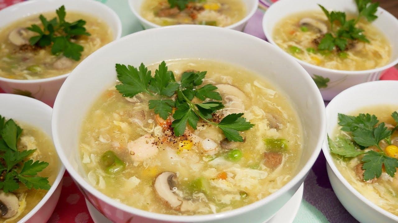 SÚP KHAI VỊ – Cách nấu Súp Hải sản thập cẩm | Suppe | Soup – Món đãi tiệc by Vanh Khuyen