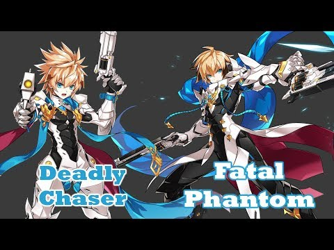 [ElswordKR] 3rd Jobs, What Changed? Deadly Chaser - Fatal Phantom