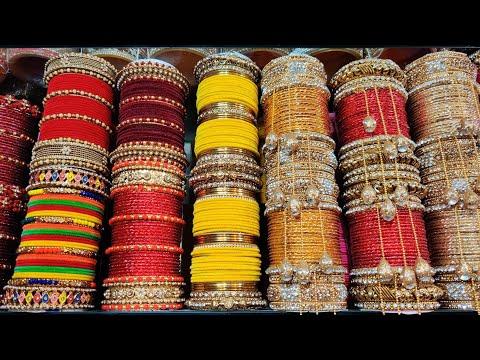 কালারফুল মুঠ চুড়ি কিনুন গাউছিয়া মার্কেট থেকে/Colourful bangles buy gawsia market.