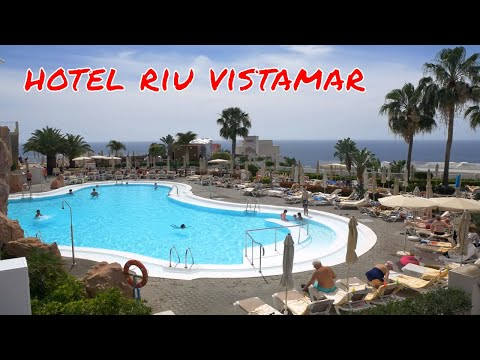 Clubhotel Riu Vistamar (Amadores/Puerto Rico) - the pool area - 2017.03.05 - 4k
