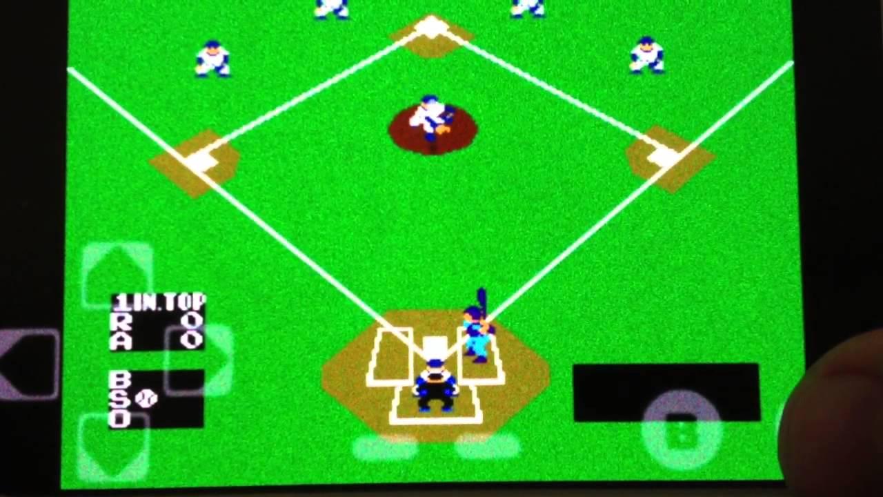 classic nintendo baseball nes on android youtube