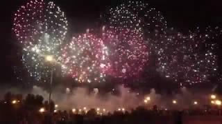 Фестиваль фейерверков в Москве - 18.08.2018