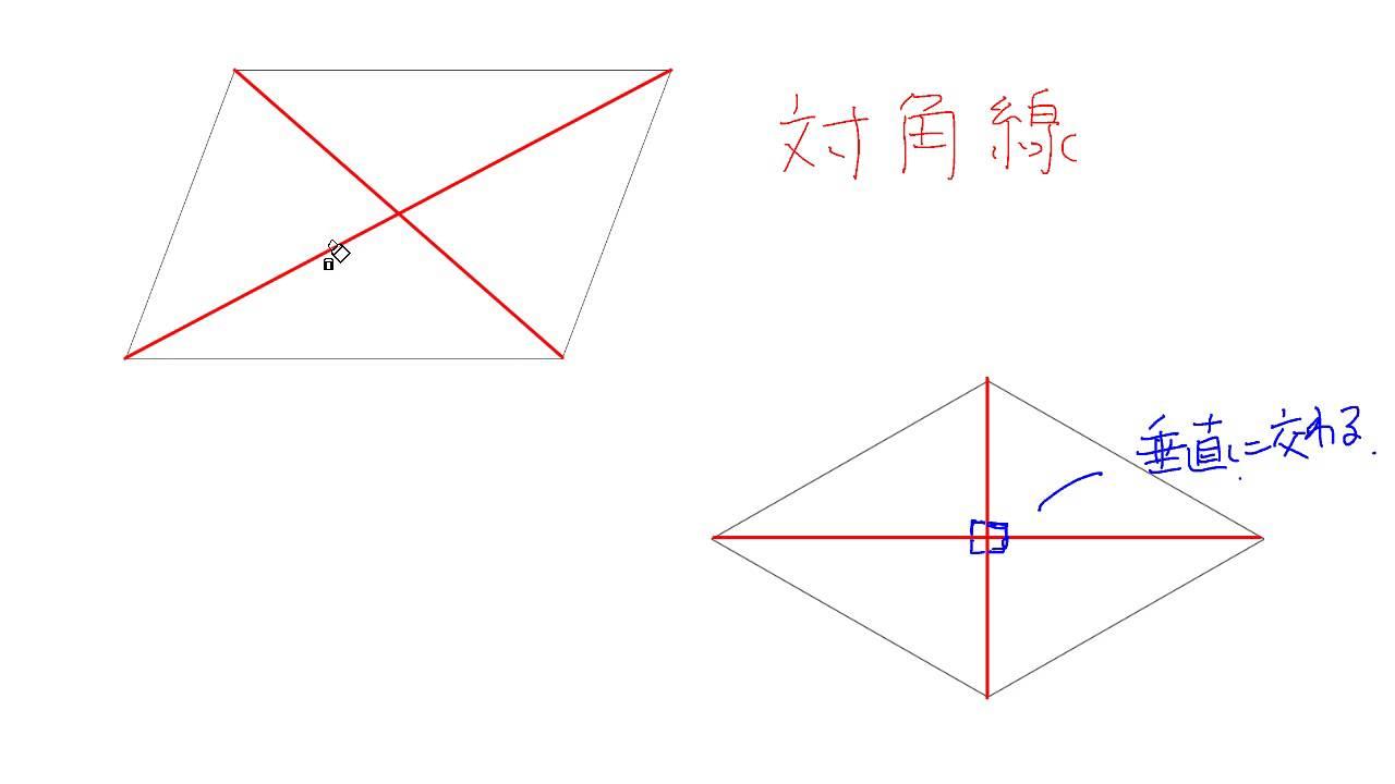 対角線と四角形