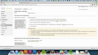 Configuring Apple DEP with Systems Manager