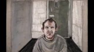 Courtroom sketch of Christchurch attack suspect
