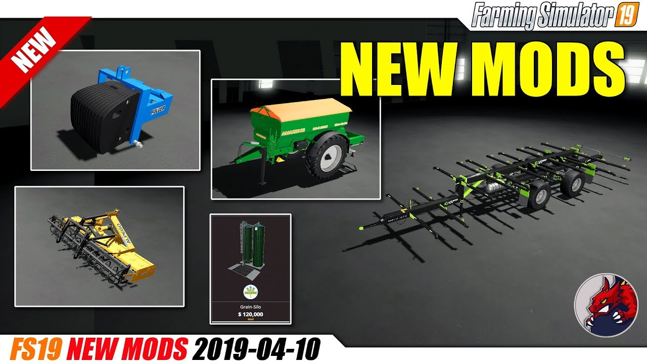 FS19 | New Mods (2019-04-10) - review