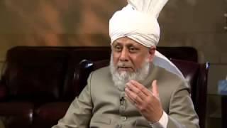 Interview - Hazrat Mirza Masroor Ahmad - CBC News Calgary (May 24, 2013)