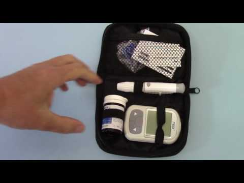 fed-bgm-ii-blood-glucose-monitor-glycometer-/-meter-pack-contents-and-demonstration-part-1