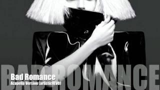 Скачать Lady GaGa Bad Romance Acapella Version
